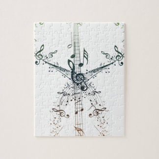 Guitar and Music Notes 4 Jigsaw Puzzle