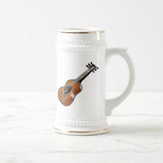 Guitar Beer Stein
