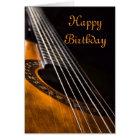 Guitar birthday card