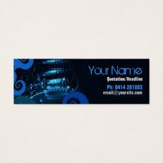 GUITAR Blue Grunge profile card