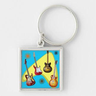Guitar boomerang key ring