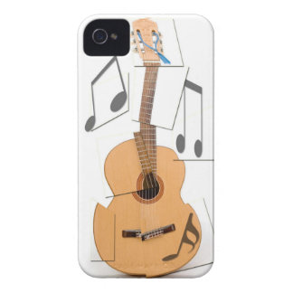 Guitar Brown iPhone 4 Covers