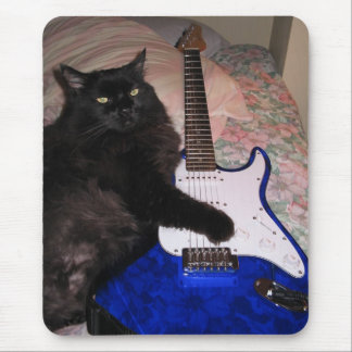 Guitar Cat Mousepad