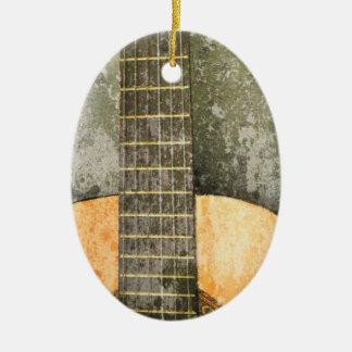 Guitar Christmas Ornament
