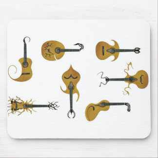 Guitar Collection Mouse Pad