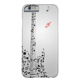 Guitar Design Barely There iPhone 6 Case