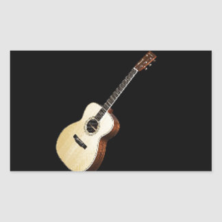 """Guitar"" design gifts and products Rectangle Sticker"