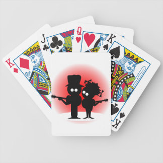 Guitar Duo Bicycle Playing Cards