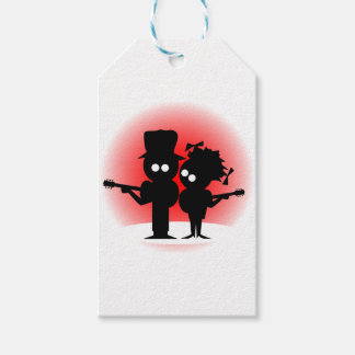 Guitar Duo Gift Tags