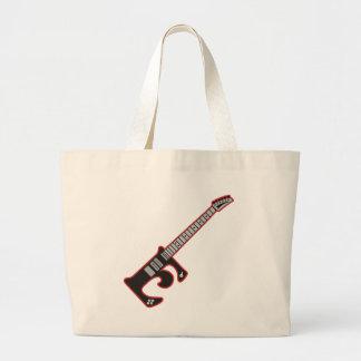 Guitar E Jumbo Tote Bag
