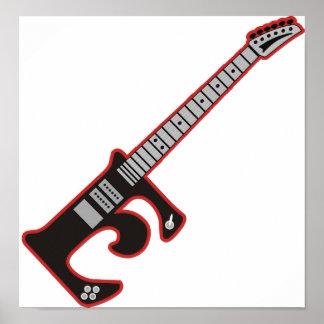 Guitar E Poster