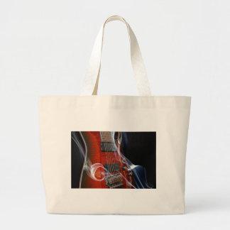 Guitar Eight Strings Seven-String Guitars Large Tote Bag