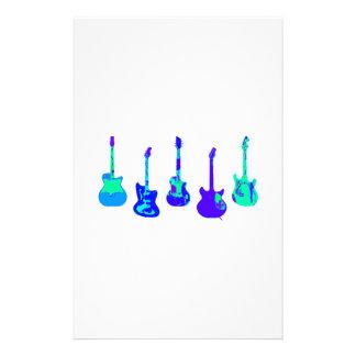 Guitar Ensemble Stationery