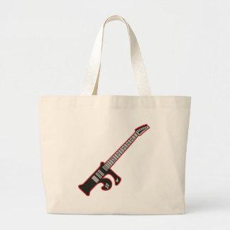 Guitar F Jumbo Tote Bag
