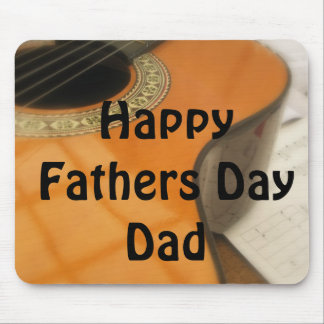 Guitar Fathers Day Gift Mouse Pad
