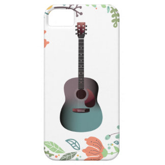 Guitar Flower Ring Case For The iPhone 5