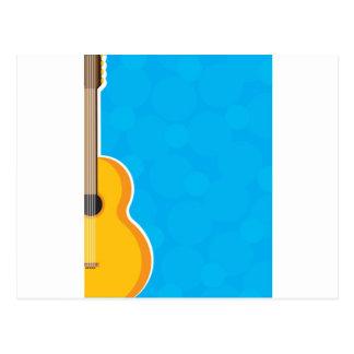 Guitar Frame Postcard