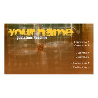 "GUITAR ""FRETS"" Business card"