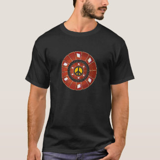 Guitar Frets Peace Sign T-Shirt