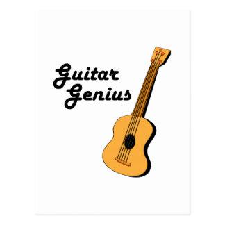 Guitar Genius Post Cards