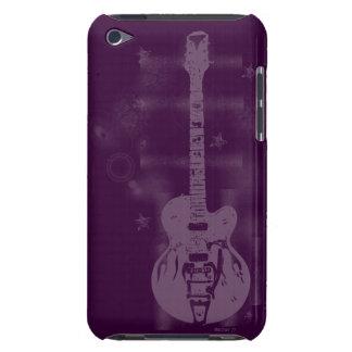 Guitar Graphic Purple iPod Case iPod Touch Case