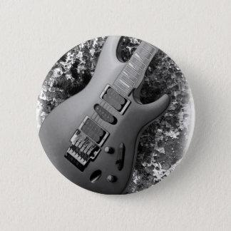 Guitar grunge 6 cm round badge