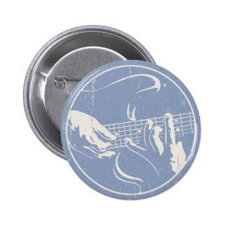 Guitar Hands 814 Pinback Button