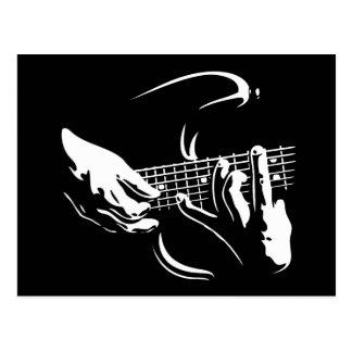 guitar-hands-DKT Postcard