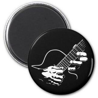 Guitar Hands II 6 Cm Round Magnet