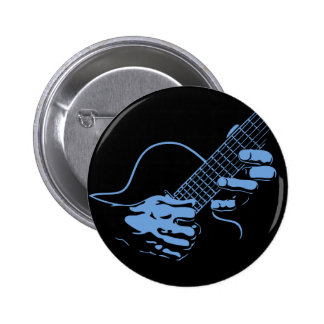 Guitar Hands II -blu Pin