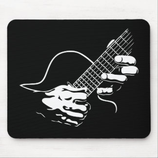 Guitar Hands II Mouse Pad
