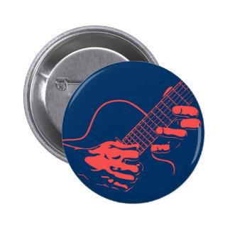 Guitar Hands II -red Pins