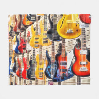 Guitar Heaven Blanket