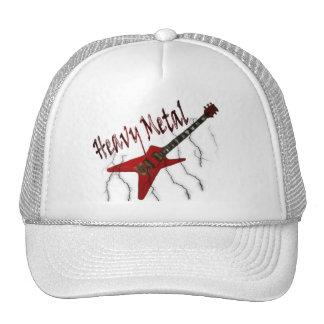 Guitar Heavy Metal Trucker Hats