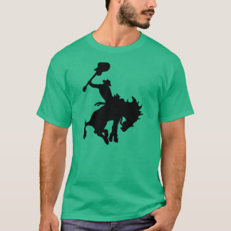 Guitar Hero rodeo cowboy on horseback T-Shirt