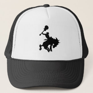 Guitar Hero rodeo cowboy on horseback Trucker Hat
