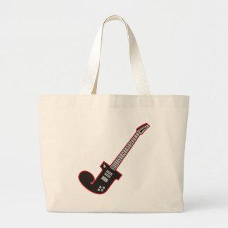 Guitar J Jumbo Tote Bag