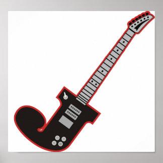 Guitar J Poster