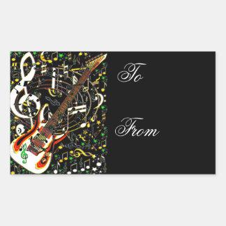 Guitar Jam_ Sticker