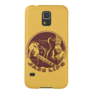 Guitar Jazz Cover Samsung S5 Galaxy S5 Cases