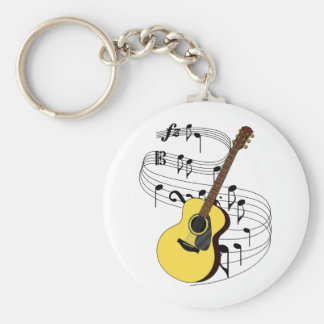 Guitar Key Ring