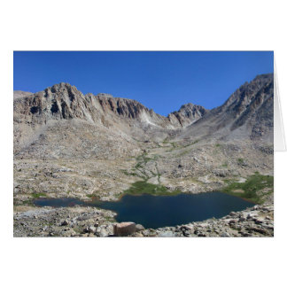 Guitar Lake and Mt Whitney - John Muir Trail Card