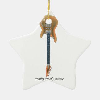 Guitar Lead Ceramic Ornament