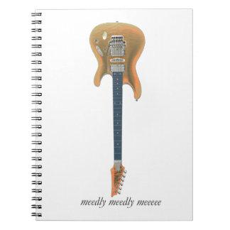 Guitar Lead Notebooks