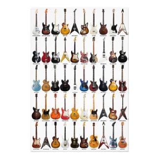 Guitar Legends Photo Print