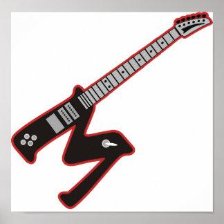 Guitar M Poster