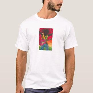 Guitar Man By Karen Bates Studio T-Shirt