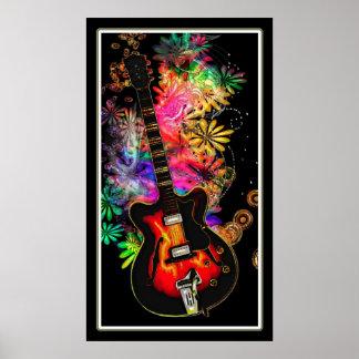 Guitar Moods Poster