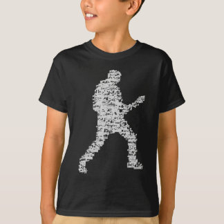 guitar more player OF of notes built T-Shirt