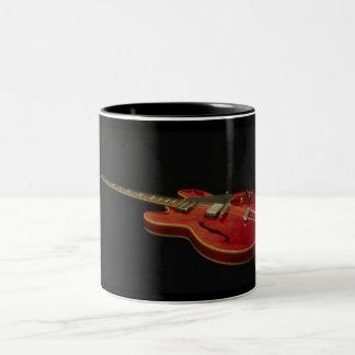 Guitar -Mug- Two-Tone Coffee Mug